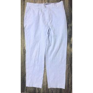 J Crew Pants Classic Fit Light Blue Cotton 224.125